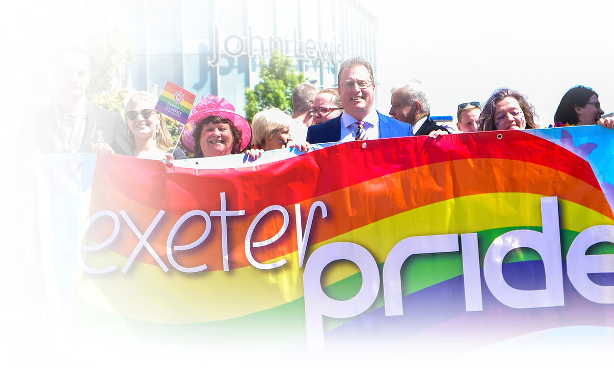 Rainbow March Exeter